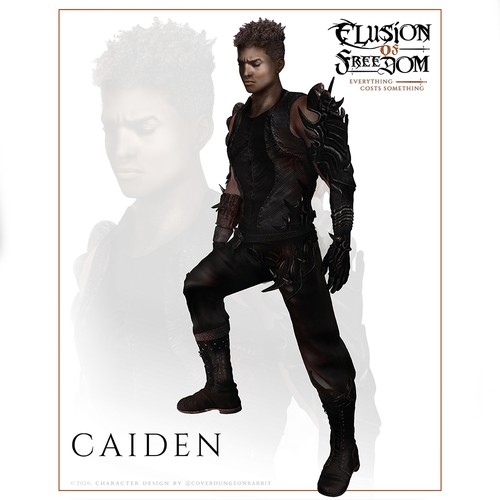 "Character Design ""Caiden"""