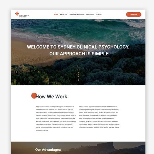 Website for Sydney psychology clinic