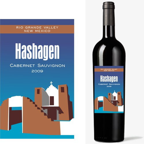 New Mexico wine label