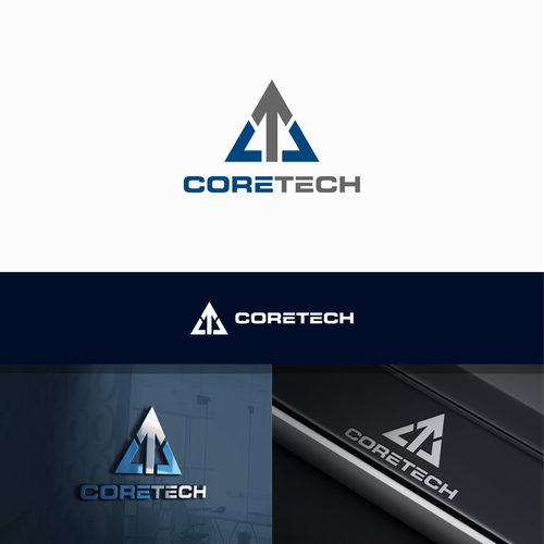 Logo concept for CORETECH