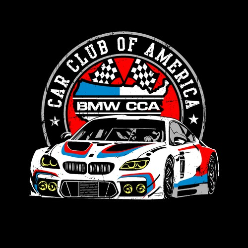 BMW Car Club of America Kid's T-Shirt