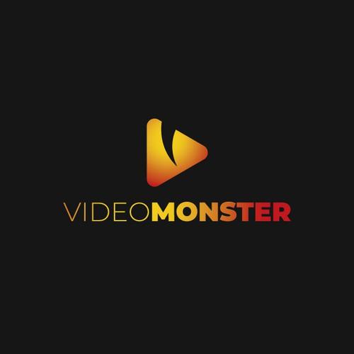 """Logo da """"paura"""" per un'agenzia di content marketing e video"""