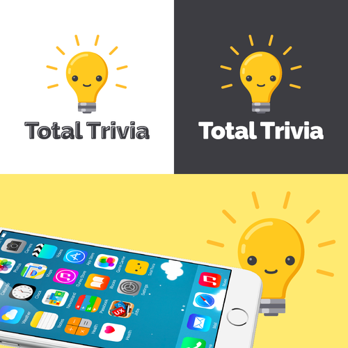 Logo for mobile trivia game