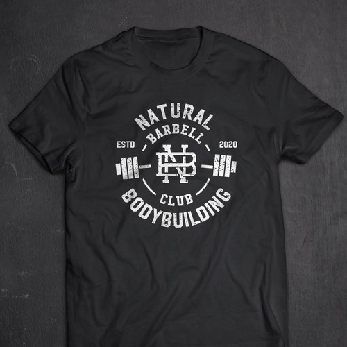 T-shirt for weightlifting club