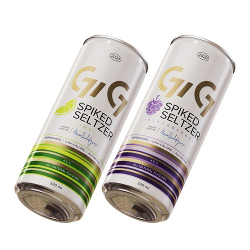 GiG Spiked Seltzer Cans
