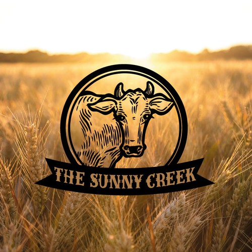 The Sunny Creek logo design