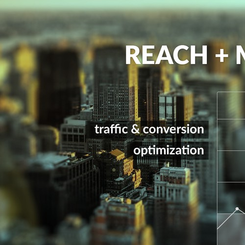 Creative slider image for a website