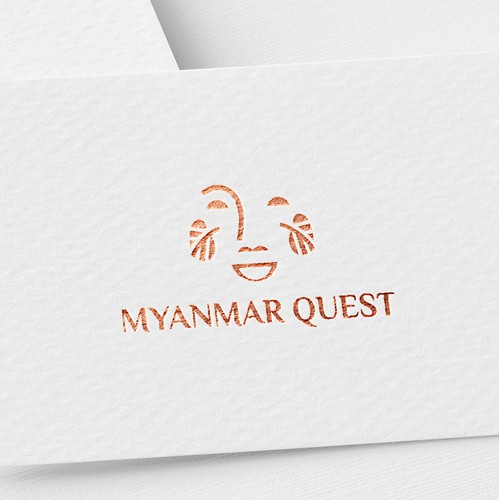 Bold logo for travel agency