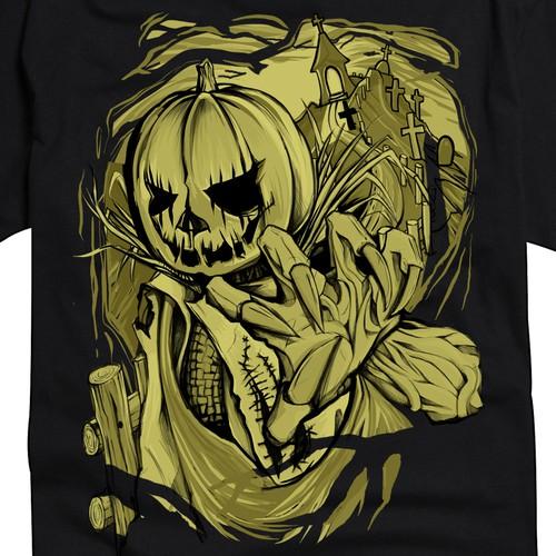 Halloween T-shirt design