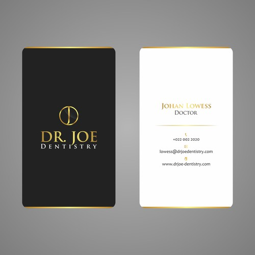 BUSINESS CARD: Dr. Joe Dentistry