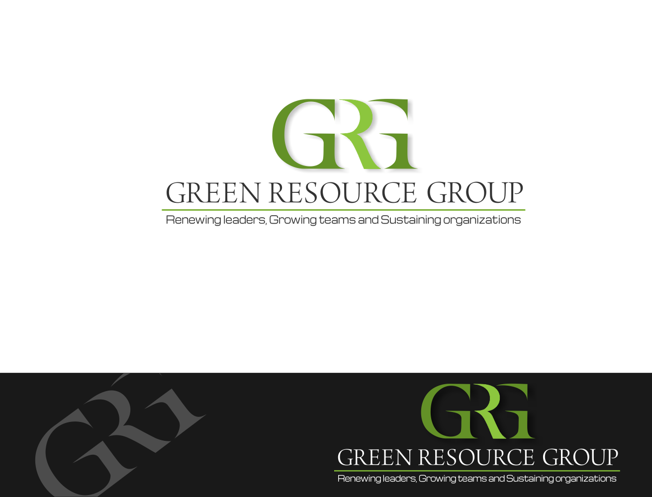 Help Green Resource Group with a new logo