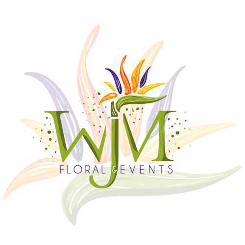 logo for a creative floral design studio