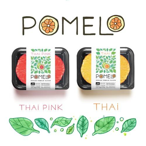 Hip Pomelo Branding project