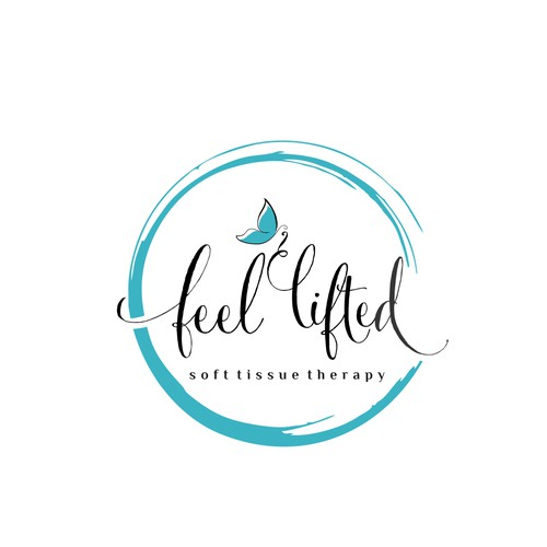 feel lifted logo design