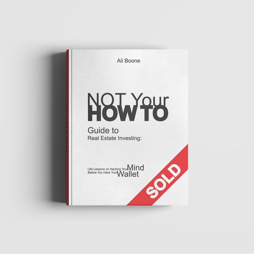 Book cover for real estate investing book