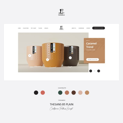 Pottery Direct Web Design