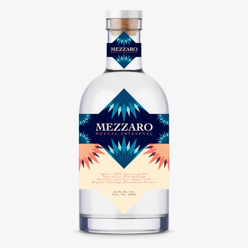 Mezzaro label design