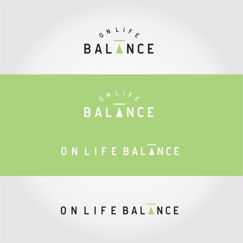 Simple logo for Onlife Balanca