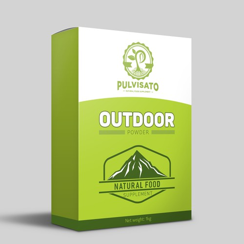 Natural Food Supplement Package