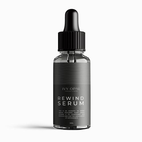 Serum Label Design
