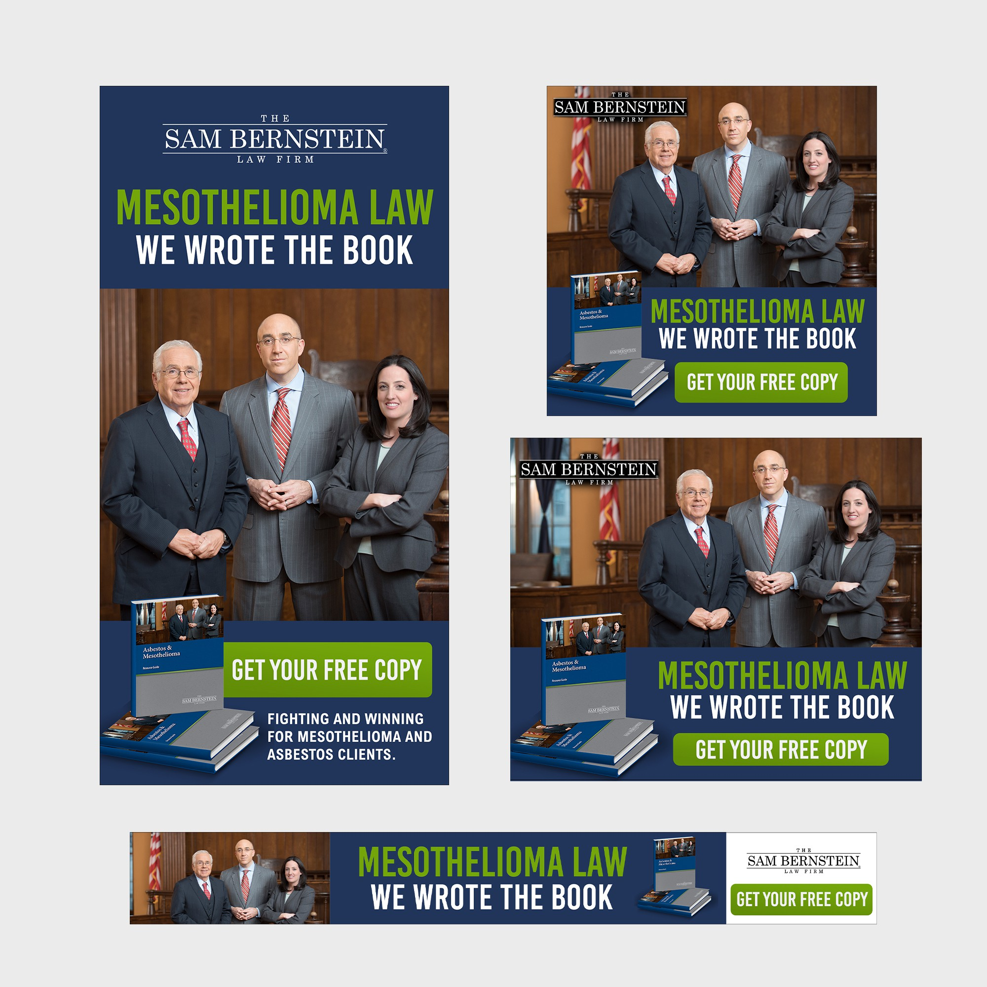Display Ads for Mesothelioma Book
