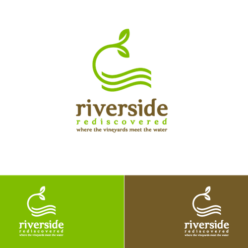 Logo for revitalization of small riverside community