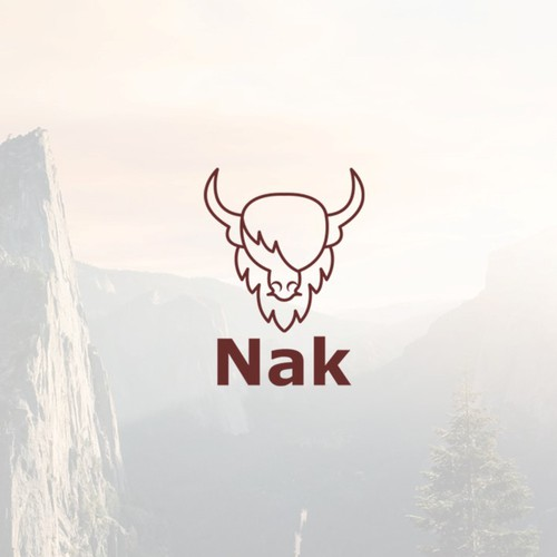 Yak animal logo