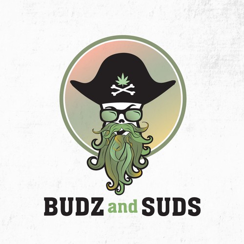 Super Fun Creative Cannabis shop Logo