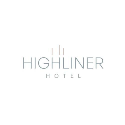 Elegant logo for hotel