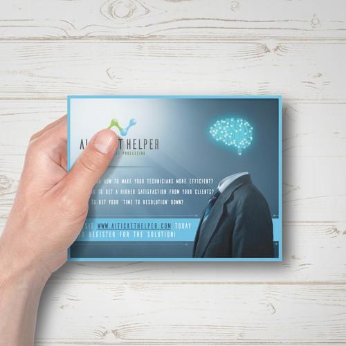 Brand Promotion Postcard