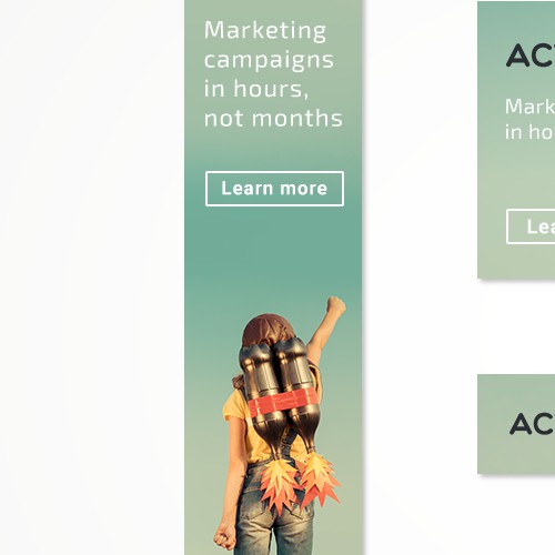Banners for Marketing Activation Platform