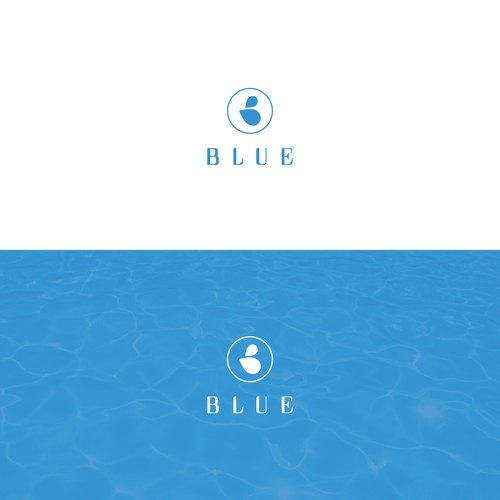 Logo for pool service