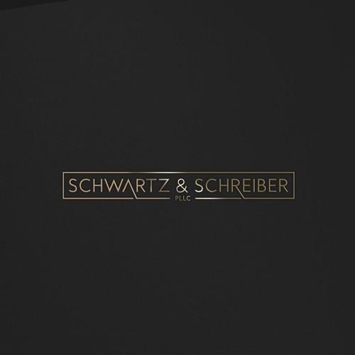 Logo design for Schwartz & Schreiber