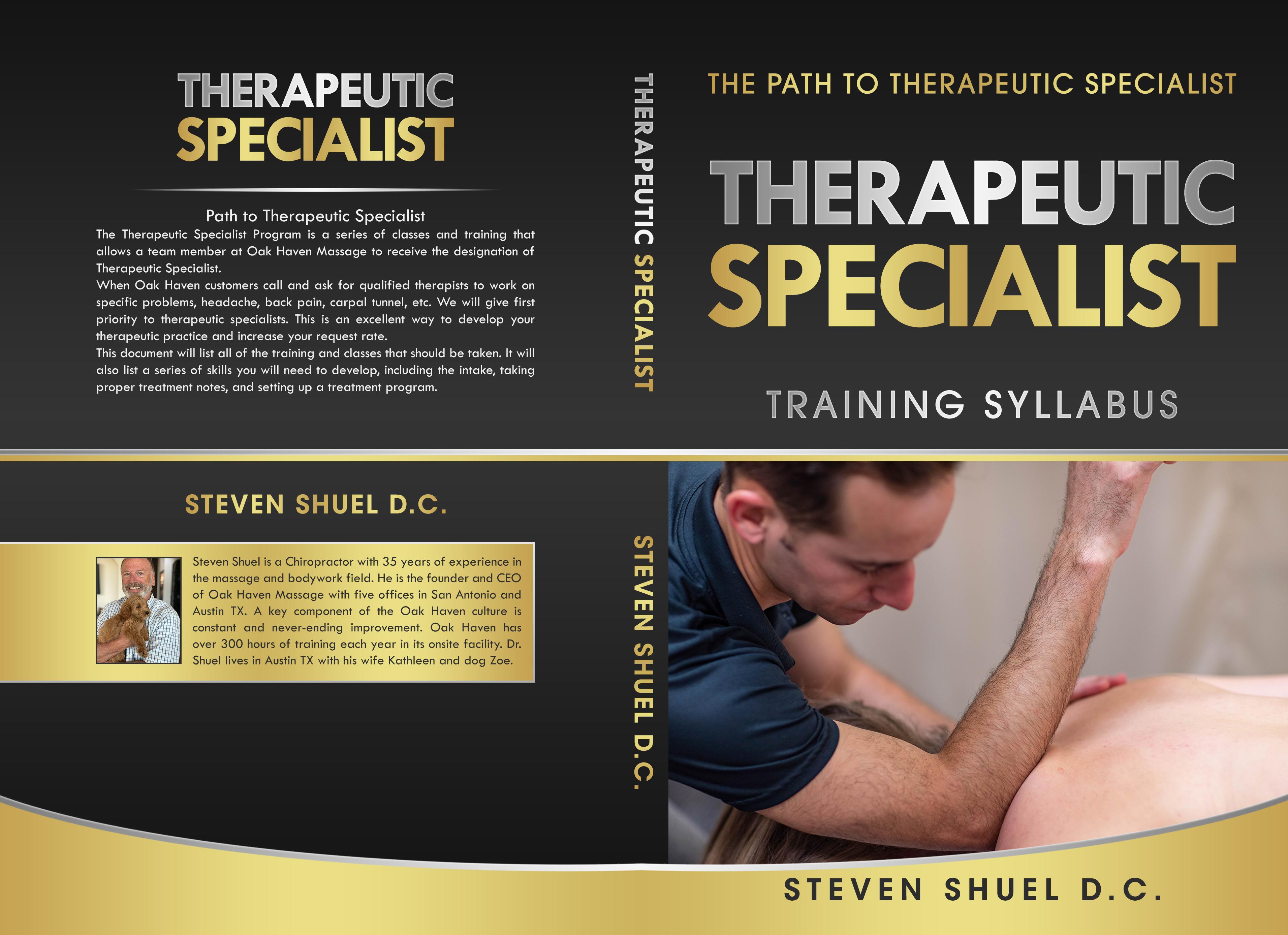 Book Cover..... Training Syllabus