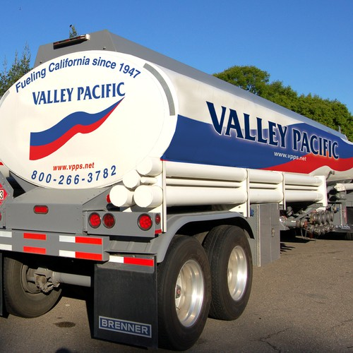 Brending truck for Valley Pacific