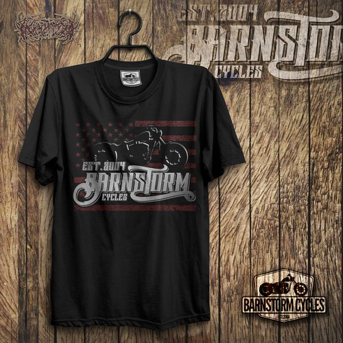 Barnstorm Cycles T-shirt