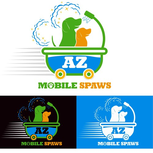 Mobile Pet Grooming business needs memorable and fun logo!