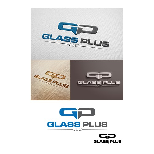 Glass subcontractor needs your help to create a sleek logo design!