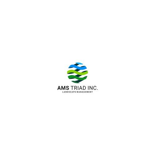AMS TRIAD INC. Logo Design