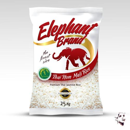 Design for premium rice Season Co