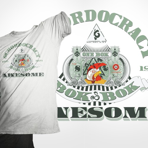 Looking for a t-shirt design exhibiting sheer, epic awesomeness