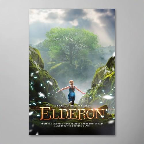 Elderon poster for digital mass film