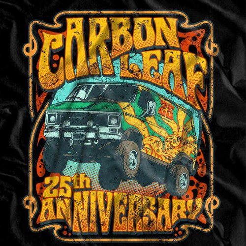 Carbon leaf tour tshirt