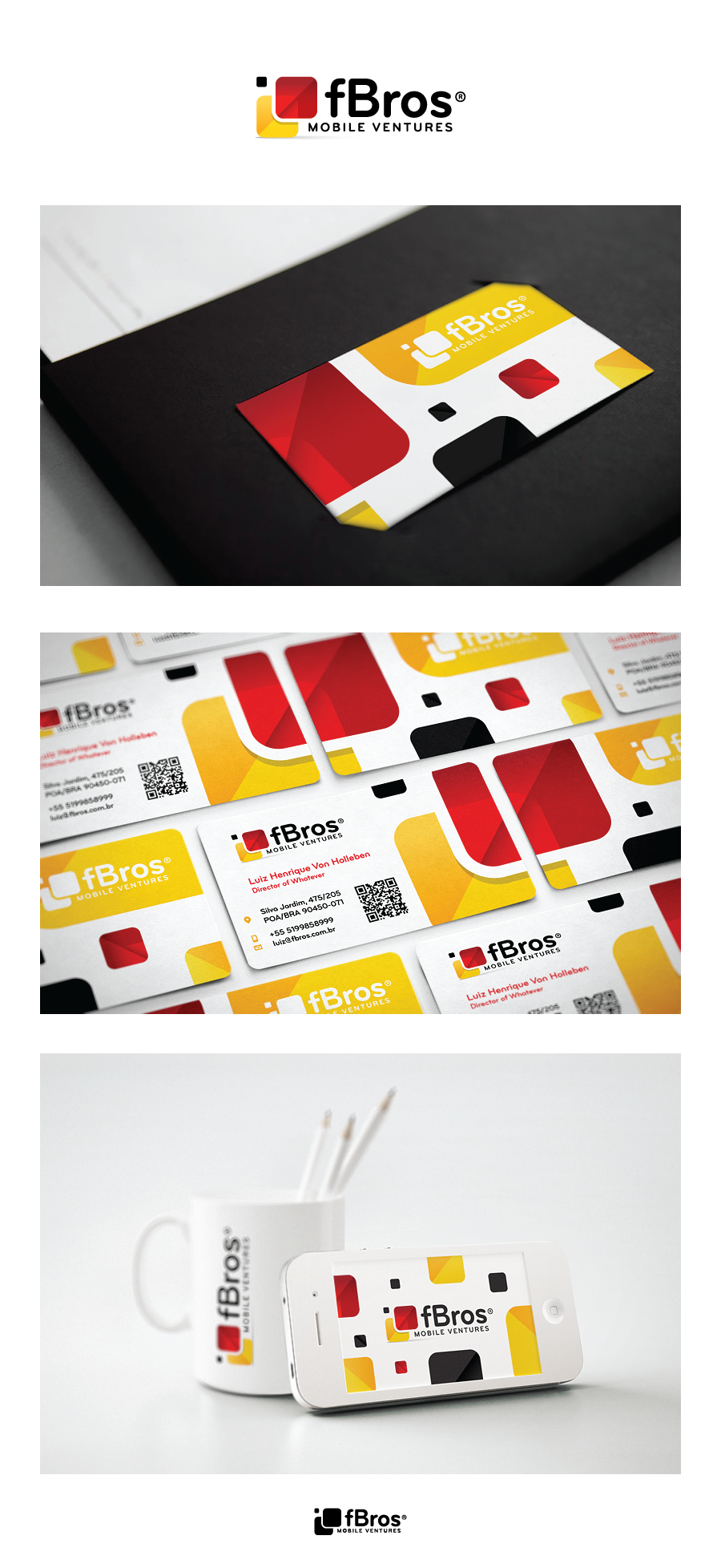 *Prize Guaranteed* Create the next logo and business card for fBros