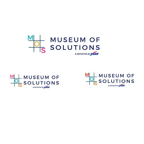 Simple and smart logo for the Museum of solutions