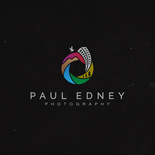 logo design for Paul Edney photography