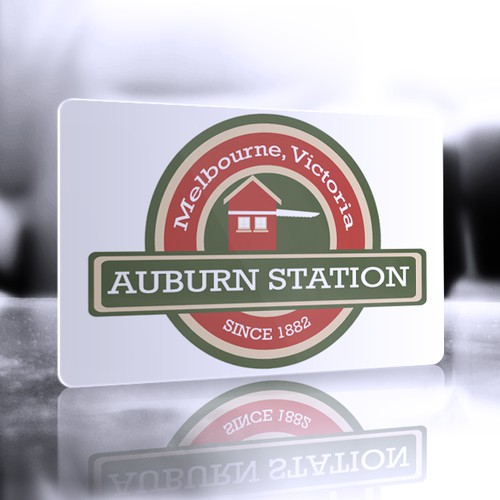 Create the next logo for Auburn Station