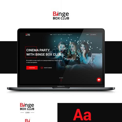 Binge Box Club Concept