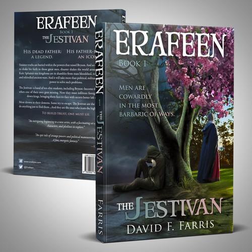 Cover Design for a debut epic fantasy novel - 1st Book in series