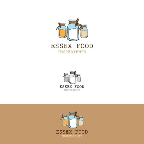 Hand drawn logo for Food Ingredients